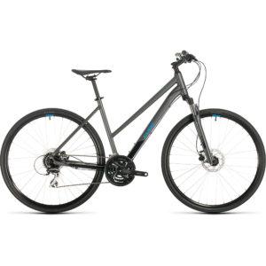 "Cube Nature Trapeze Urban Bike 2020 - Iridium - Blue - 54cm (21"")"