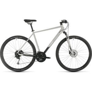 "Cube Nature Pro Urban Bike 2020 - Grey - White - 54cm (21"")"