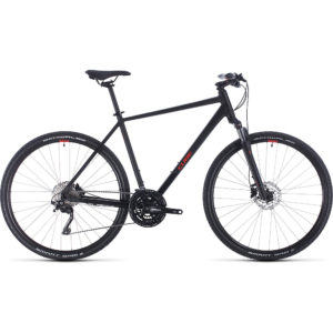 "Cube Nature EXC Urban Bike 2020 - Black - Red - 62cm (24.5"")"