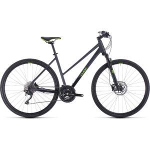 "Cube Cross Pro Trapeze Urban Bike 2020 - Iridium - Green - 46cm (18"")"