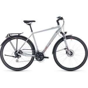"Cube Touring Pro Bike 2020 - Grey - Orange - 62cm (24.5"")"