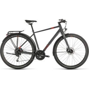 """Cube Travel Bike 2020 - Iridium - Red - 46cm (18"""")"""