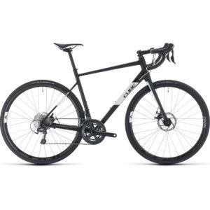 "Cube Attain Race Road Bike 2020 - Black - White - 58cm (22.75"")"