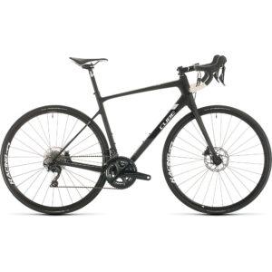 "Cube Attain GTC SL Road Bike 2020 - Carbon - White - 53.5cm (21"")"