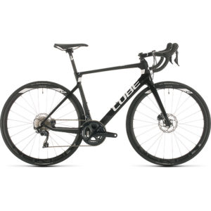 "Cube Agree C:62 Race Road Bike 2020 - Carbon - White - 50cm (19.5"")"