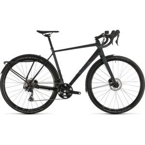 "Cube Nuroad Race FE Road Bike 2020 - Black - Iridium - 53.5cm (21"")"