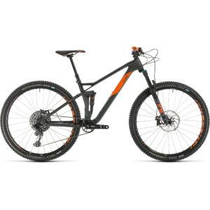 "Cube Stereo 120 HPC TM 29 Suspension Bike 2020 - Grey - Orange - 51cm (20"")"