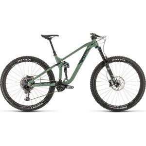 """Cube Stereo 170 Race 29 Suspension Bike 2020 - Green - Sharpgreen - 51cm (20"""")"""