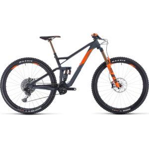 "Cube Stereo 150 C:68 TM 29 Suspension Bike 2020 - Grey - Orange - 51cm (20"")"
