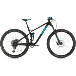 "Cube Stereo 120 Pro 29 Suspension Bike 2020 - Black - Blue - 51cm (20"")"
