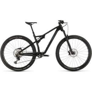 """Cube AMS 100 C:68 Race 29 Suspension Bike 2020 - Carbon - Grey - 57cm (22"""")"""