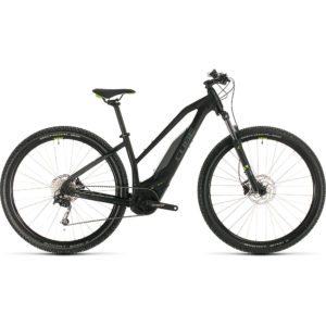 "Cube Acid Hybrid One 400 29 Trapeze E-Bike 2020 - Black - Green - 48cm (19"")"