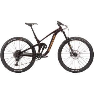 Kona Process 153 DL 29 Full Suspension Bike 2020 - Deep Red - XL