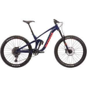 Kona Process 153 DL 27.5 Full Suspension Bike 2020 - Indigo