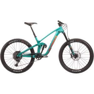 Kona Process 153 CR 27.5 Full Suspension Bike 2020 - Seafoam