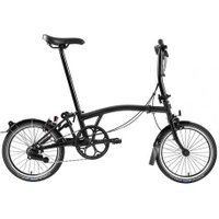 Brompton  S6L Superlight Black Edition 2020  Taittopyörä