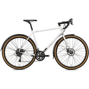 Octane One Kode ADV Commuter Road Bike 2020 - White - Black