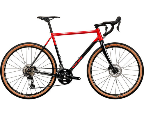 Vitus Substance SRS-2 Adventure Road Bike 2020 - Anthracite-Red - XS