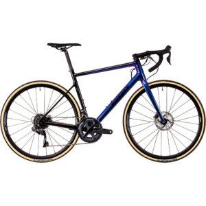 Vitus Zenium CRI Road Bike (Ultegra Di2) 2020 - Carbon-Blue Chameleon