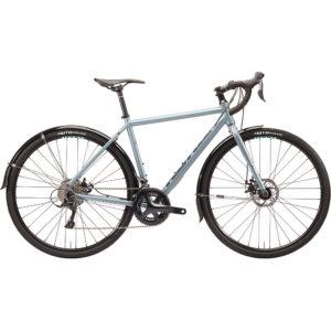"Kona Rove DL Adventure Road Bike 2020 - Metallic Silver - Grey - 58cm (22.75"")"