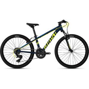 "Ghost Kato 2.4 Kids Bike 2020 - Blue - Yellow - 24"""