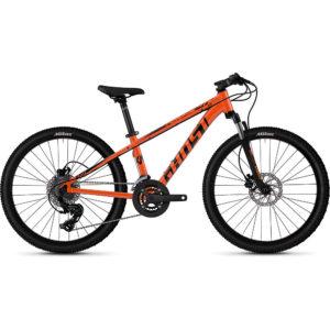 "Ghost Kato D4.4 Kids Bike 2020 - Orange - Black - 24"""