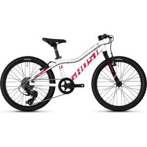 "Ghost Lanao 1.0 Kids Bike 2020 - White - Pink - 20"""