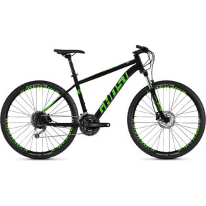 Ghost Kato 4.7 Hardtail Bike 2020 - Black - Green - XS