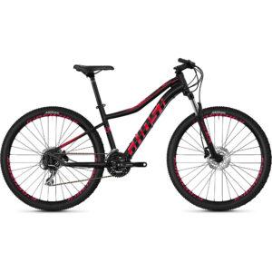 Ghost Lanao 3.7 Women's Hardtail Bike 2020 - Black - Pink - XS