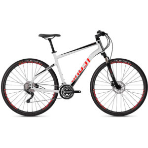 Ghost Square Cross 2.8 Urban Bike 2020 - White - Black - M