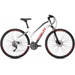 Ghost Square Cross 2.8 Women's Urban Bike 2020 - White - Black - XS