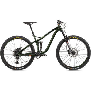 NS Bikes Snabb 130 Suspension Bike 2020 - Army Green - L