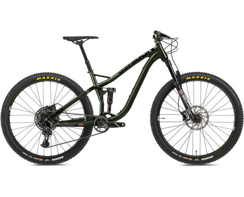 NS Bikes Snabb 130 Suspension Bike 2020 - Army Green - L