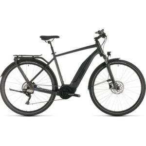 "Cube Touring Hybrid Pro 500 E-Bike 2020 - Iridium - Black - 62cm (24.5"")"