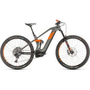 "Cube Stereo Hybrid 140 HPC TM 625 29 E-Bike 2020 - Grey - Orange - 16.25"""