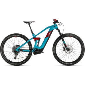 "Cube Stereo Hybrid 140 HPC Race 625 29 E-Bike 2020 - Petrol - Red - 56cm (22"")"