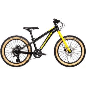"Nukeproof Cub-Scout 20 Sport Kids Bike 2020 - Black-Yellow - 20"""
