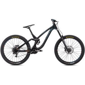 NS Bikes Fuzz 27.5 Suspension Bike 2020 - Black - Teal