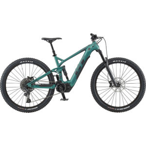 GT eForce Amp 29 E-Bike 2020 - Satin Jade - Black