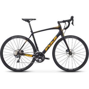 "Fuji Gran Fondo 1.5 Road Bike 2020 - Satin Black - 54cm (21"")"