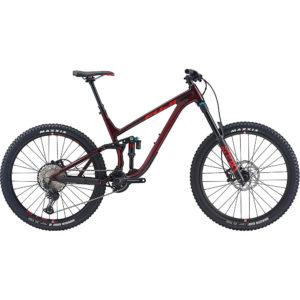 "Fuji Auric LT 27.5 1.3 Full Suspension Bike 2020 - Dark Maroon - 43.5cm (17"")"