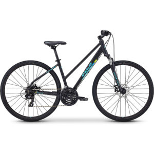 "Fuji Traverse 1.7 ST City Bike 2020 - Satin Black - 43.5cm (17"")"