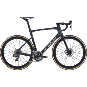 "Fuji Transonic 1.1 Disc Road Bike 2020 - Satin Carbon - Chrome - 56cm (22"")"