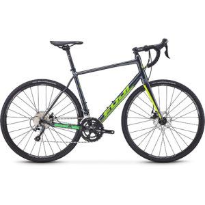 """Fuji Sportif 1.5 Disc Road Bike 2020 - Anthracite - 58cm (22.75"""")"""