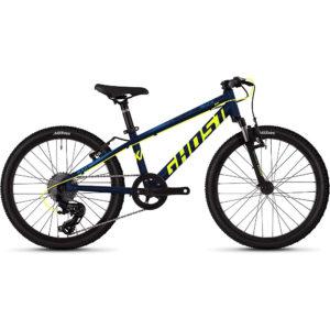"Ghost Kato 2.0 Kids Bike 2020 - Blue - Yellow - 20"""
