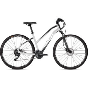 Ghost Square Cross 1.8 Women's Urban Bike 2020 - Silver - Black