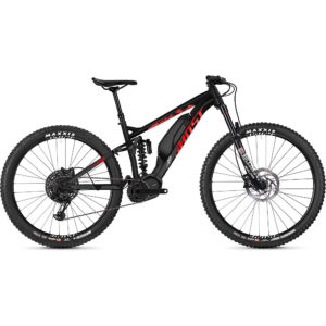 Ghost Hybride SL AMR S2.7+ E-Bike 2020 - Black - Red