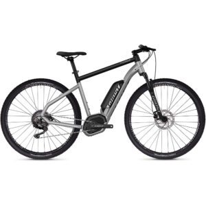 Ghost Hybride Square Cross B2.9 Urban E-Bike 2020 - Silver - Black
