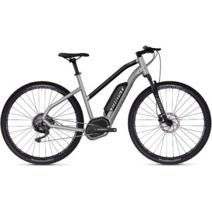 Ghost Hybride Square Cross B2.9 Women's E-Bike 2020 - Silver - Black