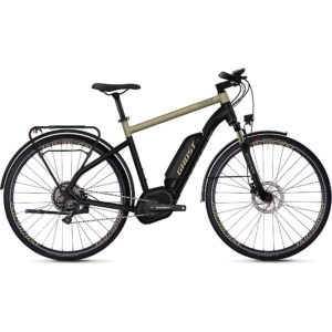 Ghost Hybride Square Trekking B5.8 E-Bike 2020 - Black - Gold - M